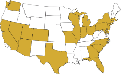 Map of States